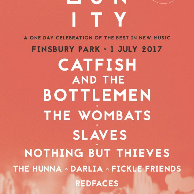 Community Festival NEW to Finsbury Park! Catfish And The Bottlemen, The Wombats & more!