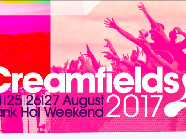Cream rebuilt for Anniversary Year – Only at Creamfields 2017!