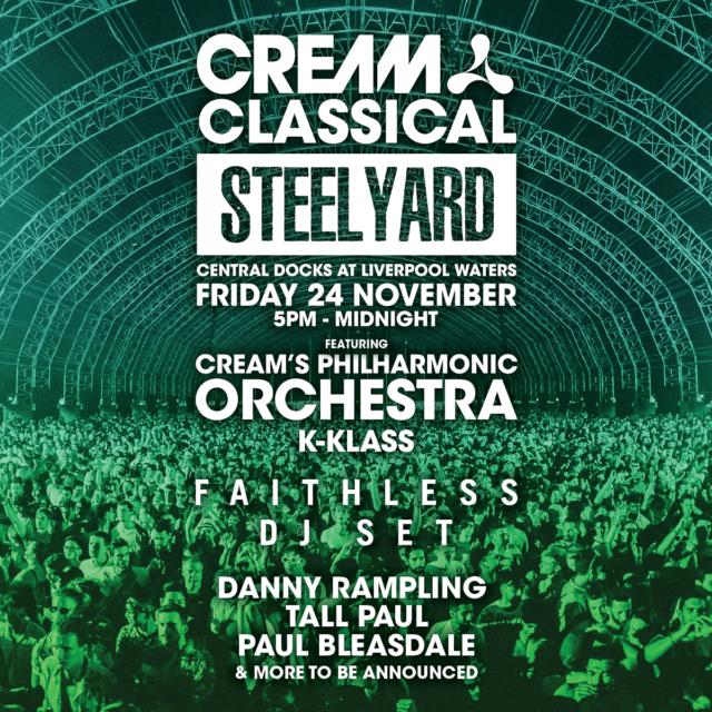 Creamfields Presenters Steel Yard! Armin Van Buuren, Cream Classical & Martin Garrix!